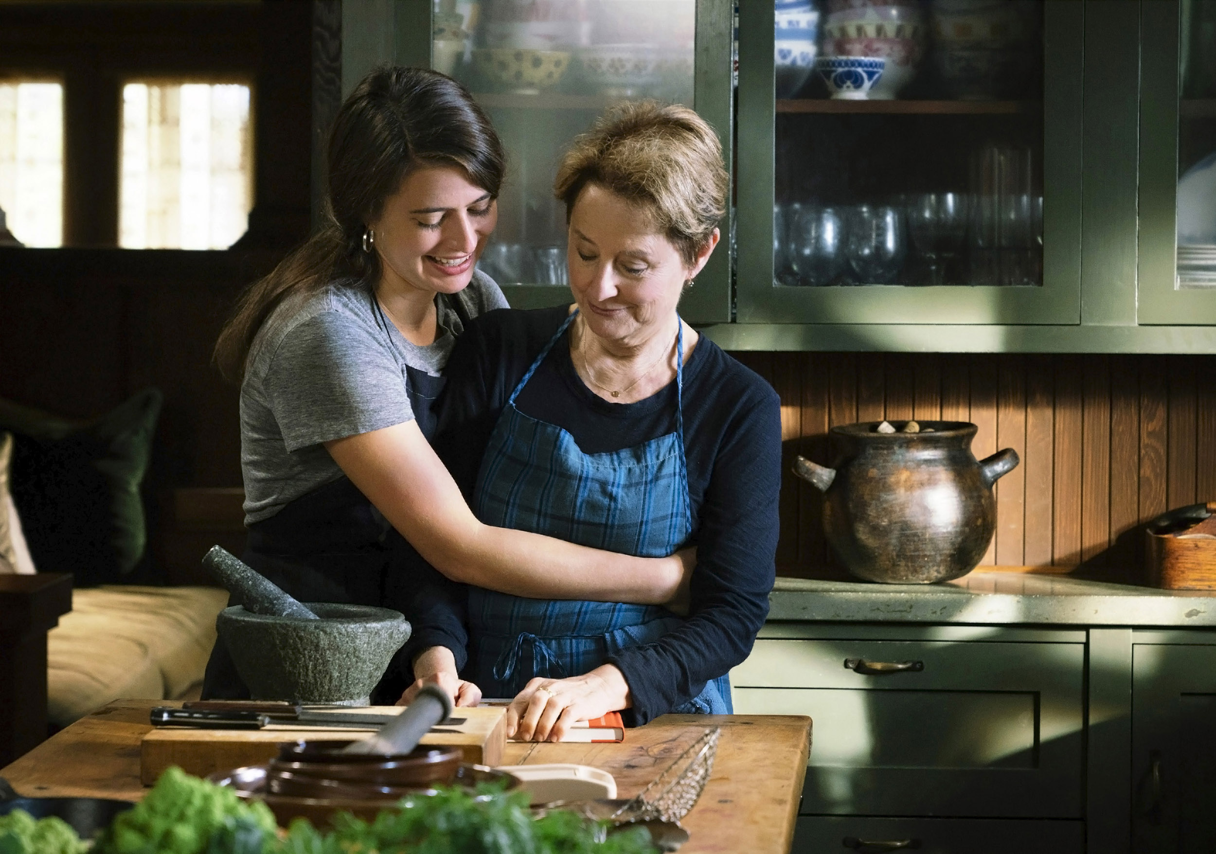 Alice Waters and Fanny